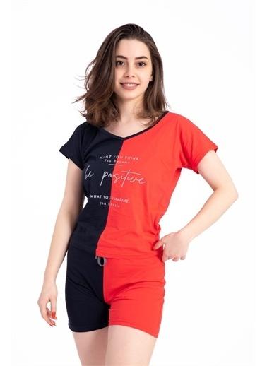 Pemilo Pijama Takım Kırmızı
